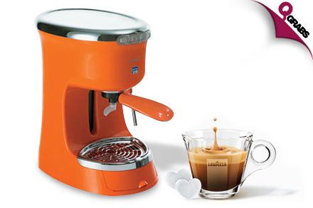Lavazza Italian Coffee Maker : Capricci Group Deal Of The Day QGRABS