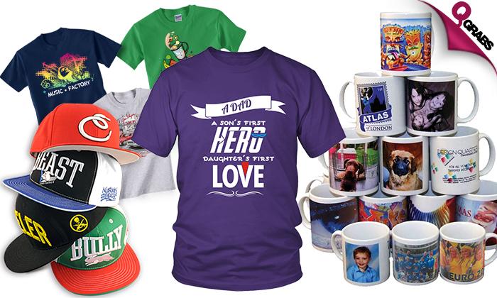 6557836e Customized Printing on Mugs, T-shirts & Caps!